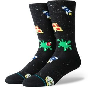 Stance Space Food Crew Height Sock